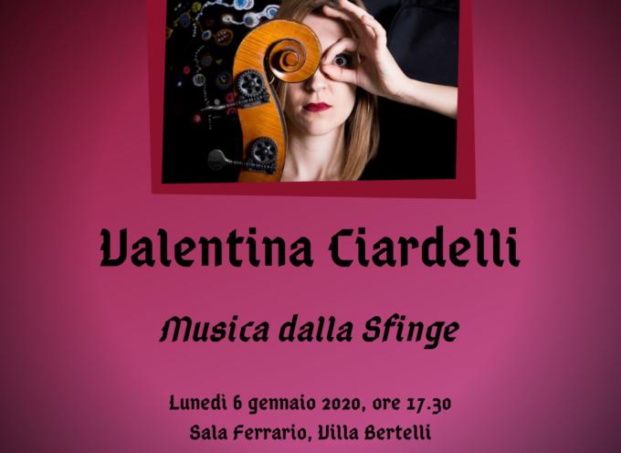 Valentina Ciardelli presenta a Villa Bertelli il suo primo disco da solista