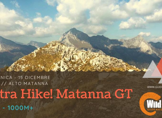 Tonico Ultra Hike Apuano con 1000 magnifici metri di dislivello da affrontare!