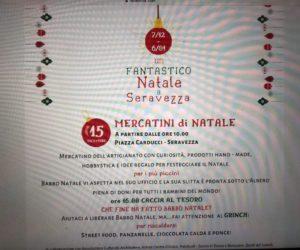 Pro Loco Seravezza – I meravigliosi Mercatini di Natale con la caccia al tesoro, gli Elfi, Mamma e Babbo Natale