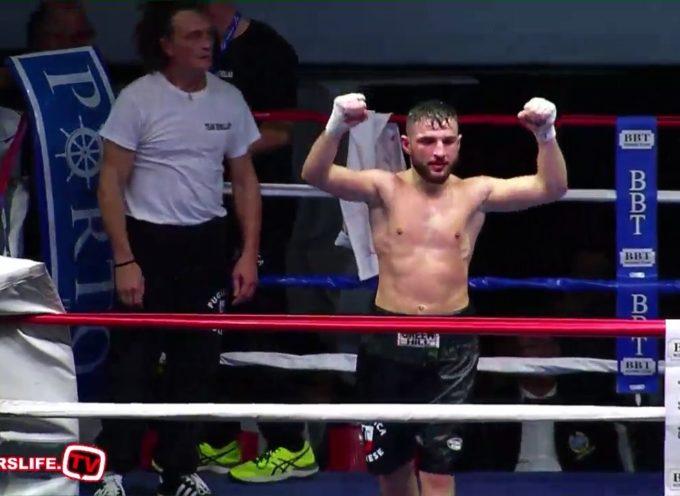 Gran finale di questo 2019 per l'Asd Pugilistica Lucchese con il suo boxeur di punta Marvin Demollari