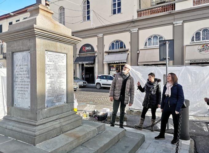 In restauro la Croce di Borgo Giannotti