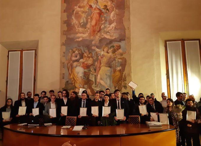DIPLOMA DI LAUREA ESTERA PER 16 ALLIEVI DI JAM ACADEMY LUCCA