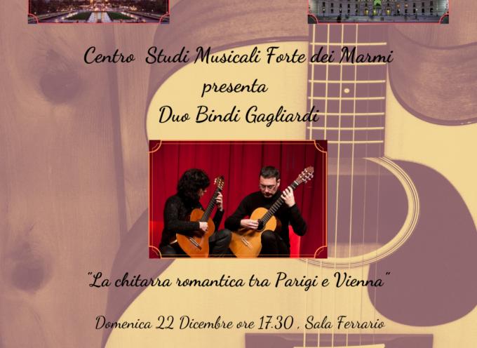 VILLA BERTELLI – Il Duo Bindi Gagliardi in La chitarra romantica fra Parigi e Vienna