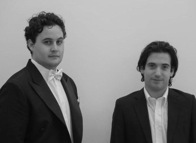 A Villa Bertelli il primo concerto ufficiale del Duo Streben