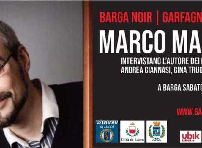 Lo scrittore Marco Malvaldi al Garfagnana in Giallo Barga Noir