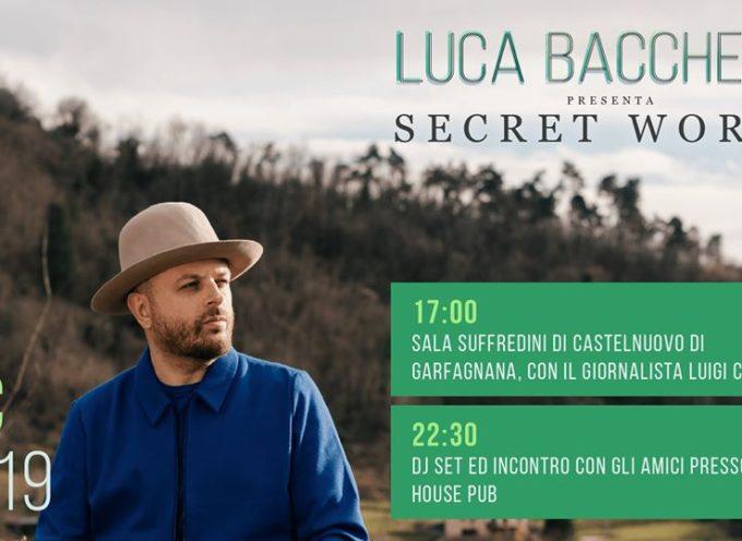Presentazione dell'album Secret World di Luca Bacchetti – in Sala Suffredini a Castelnuovo di Garfagnana