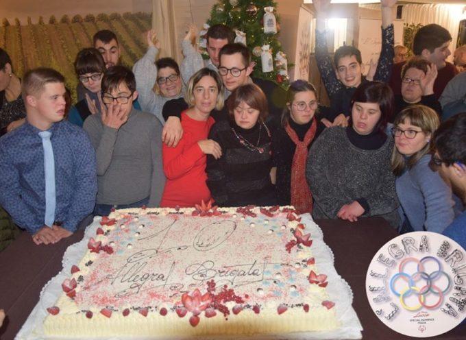 """Un rinnovato successo per la cena sociale natalizia dell'associazione """"Allegra Brigata"""