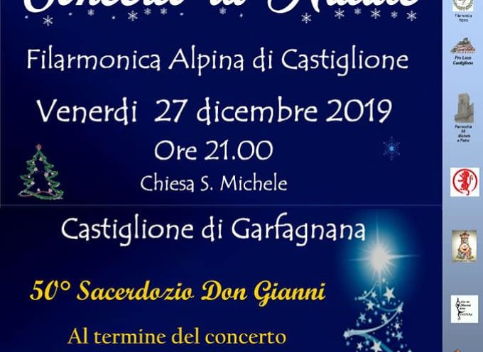 Concerto di Fine Anno, nella Chiesa San Michele a Castiglione di Garfagnana