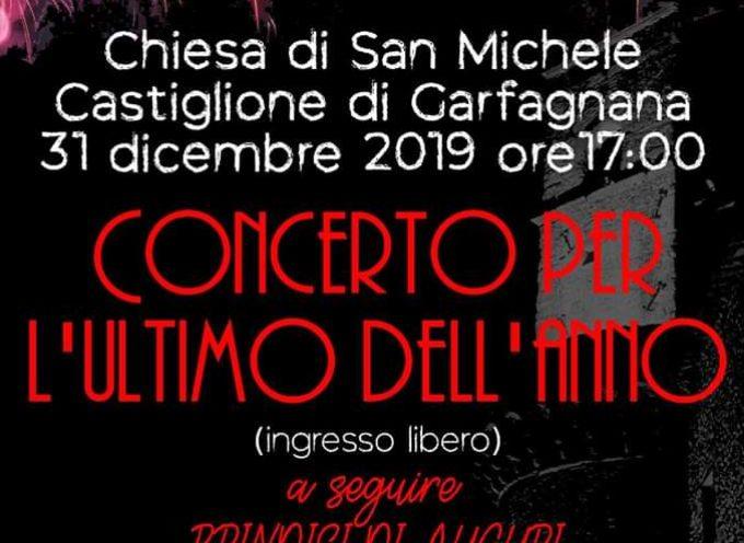 Concerto di Fine Anno, Alla Chiesa di San Michele – Castiglione di Garfagnana