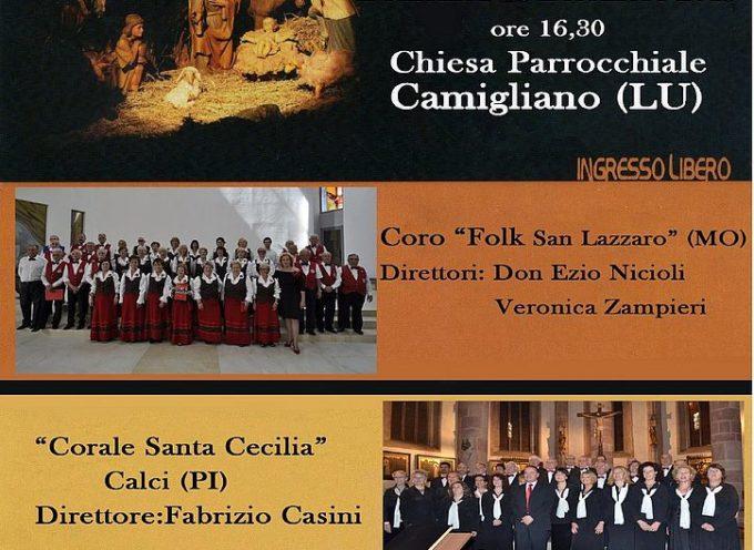 Concerto 'Intorno al presepe' domenica 29 dicembre alla chiesa parrocchiale di Camigliano