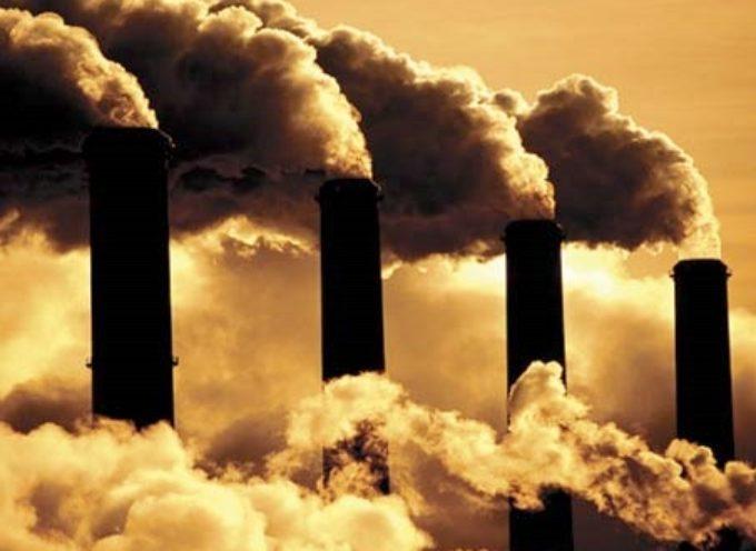 Emissioni di gas serra in aumento nel 2019