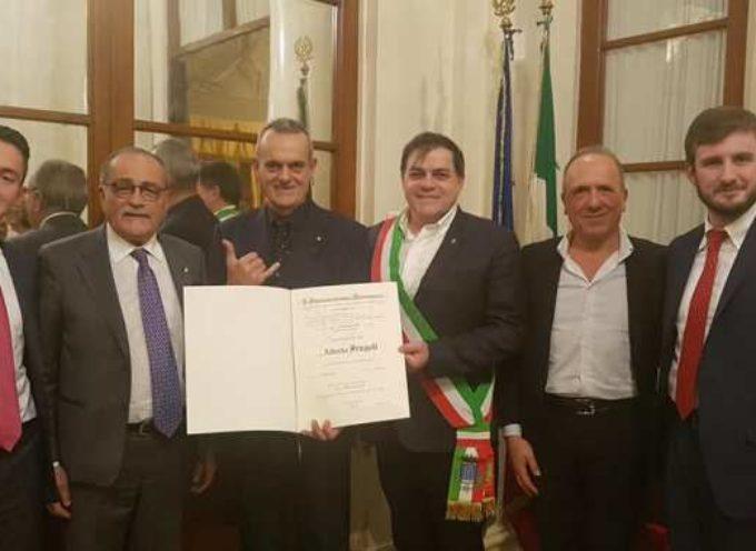 ALBERTO FRUGOLI NOMINATO CAVALIERE AL MERITO DELLA REPUBBLICA