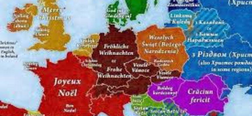 Come si dice Buon Natale in tutte le lingue di Europa