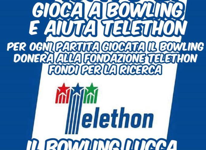 Anche il bowling si affianca alla raccolta fondi per Telethon