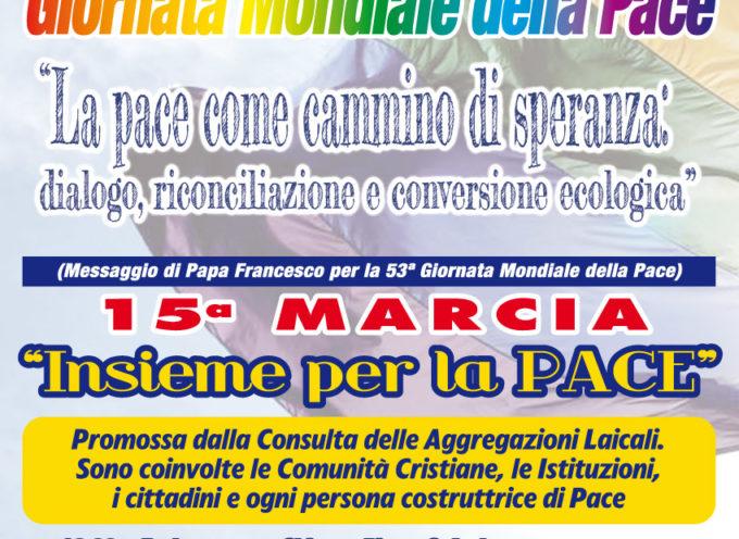 "A Lucca la 15a Marcia ""Insieme per la pace"""