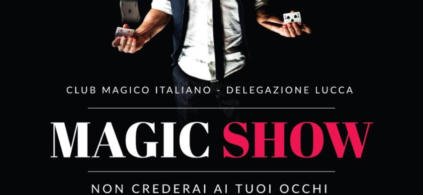 Secondo appuntamento con lo spettacolo di magia organizzato dal Rotary Club di Lucca