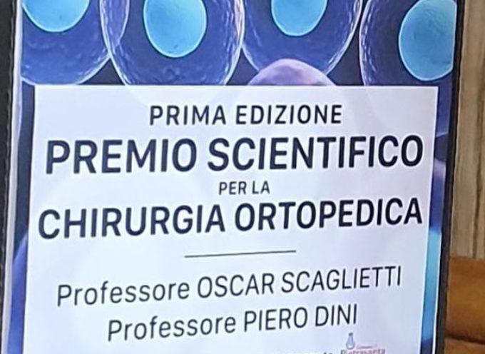 Pietrasanta_ La prima edizione del premio scientifico per la chirurgia ortopedica Scaglietti-Diniva algiovane ortopedicoAndrea Bertuccelli.