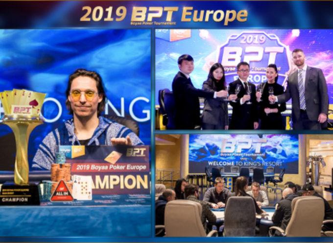 Il tedesco Karl Rupprec vince il 2019 Boyaa Poker Tournament Europe