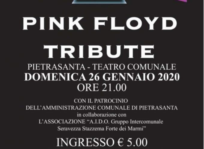 """Solidarietà: musica e donazioni, tribute band """"Pink Floyd"""" Floydian suona per la Aido"""