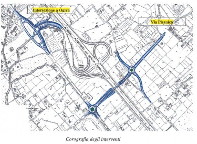 Pietrasanta – aperto cantiere via Pisanica, previsto nuovo cavalcavia autostradale