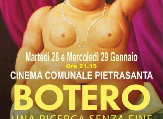 """""""Botero, una ricerca senza fine"""", a Pietrasanta due proiezioni evento"""