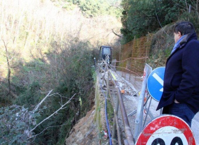 Dissesto idrogeologico: frana via Monte Ripa, da lunedì 20 gennaio al via seconda fase cantiere