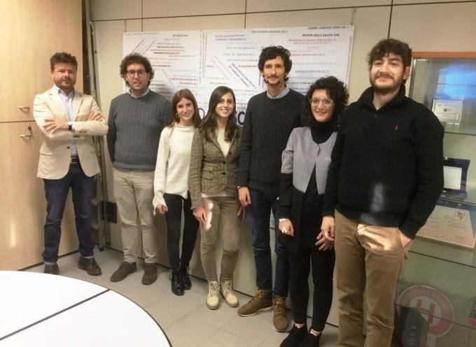 Nuove leve in contratto di formazione lavoro – 6 giovani laureati assunti dall'Asl per migliorare i processi gestionali