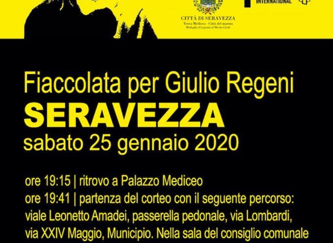 Diritti umani: a Seravezza la mobilitazione versiliese per chiedere verità e giustizia sulla morte di Giulio Regeni