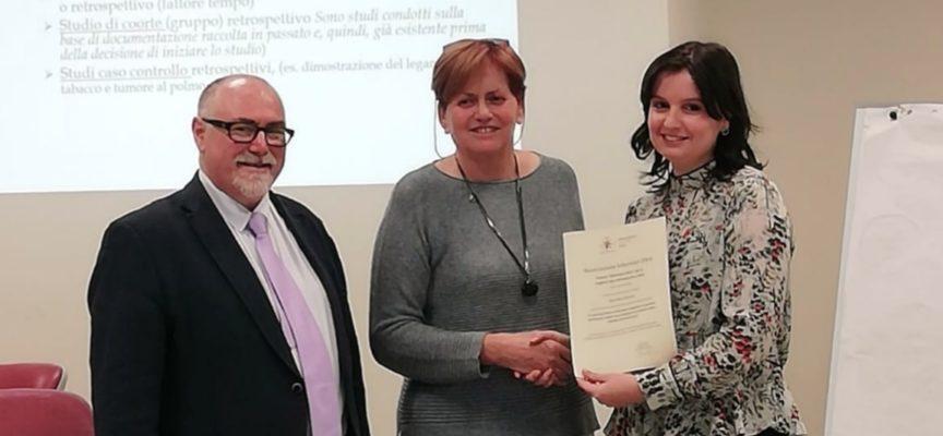 lucca: a Sara Macchiarini il riconoscimento per la miglior tesi di ricerca infermieristica del 2019