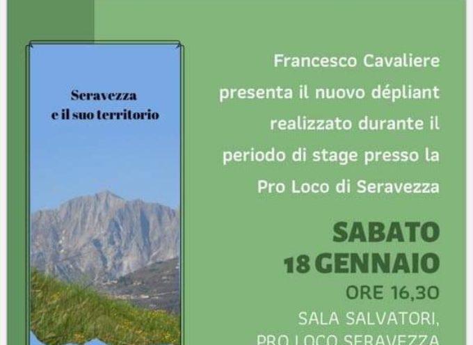 Pro Loco Seravezza – Sabato 18 gennaio: presentazione del nuovo dépliant di promozione del territorio