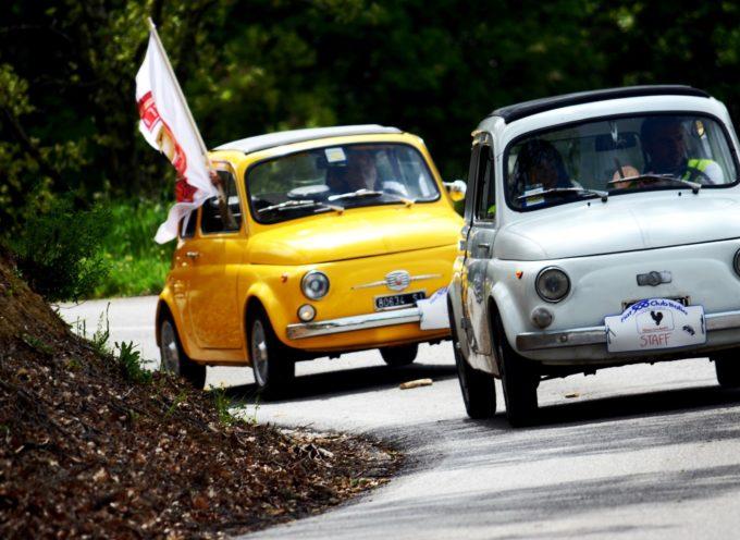 A giugno raduno di Fiat 500 a Massarosa