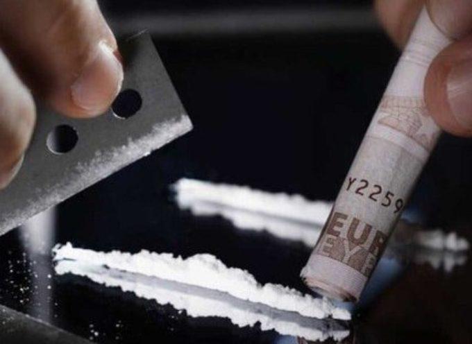 Consumo di cocaina, Italia primo paese in Europa e terzo al mondo