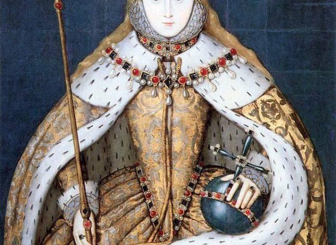 ACCADDE OGGI 15 gennaio 1559: Elisabetta I viene incoronata regina di Inghilterra.
