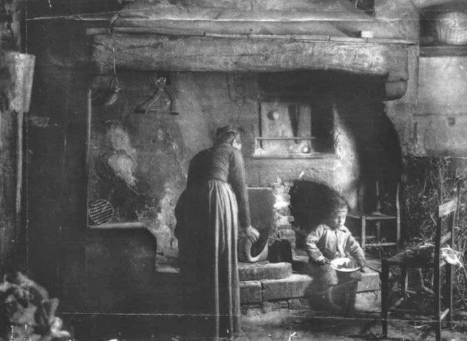 Il focolare un tempo era l'antica anima della casa.