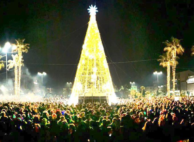 VIAREGGIO – 10mila persone in piazza Mazzini per la festa di fine anno