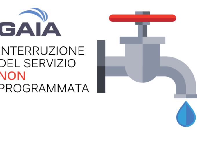 GAIA S.p.A.  saranno effettuati lavori sulla rete principale dell'acquedotto servente il Capoluogo del Comune di Pietrasanta.