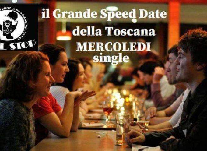 MERCOLEDI 15 GENNAIO TUTTI AL FULL STOP  PER LO SPEED DATE….