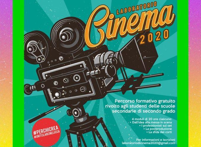 """Iscriviti al corso gratuito """"Laboratorio cinema 2020"""""""