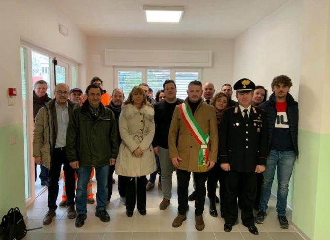 Inaugurazione nuovo plesso scolastico di Castiglione di Garfagnana.