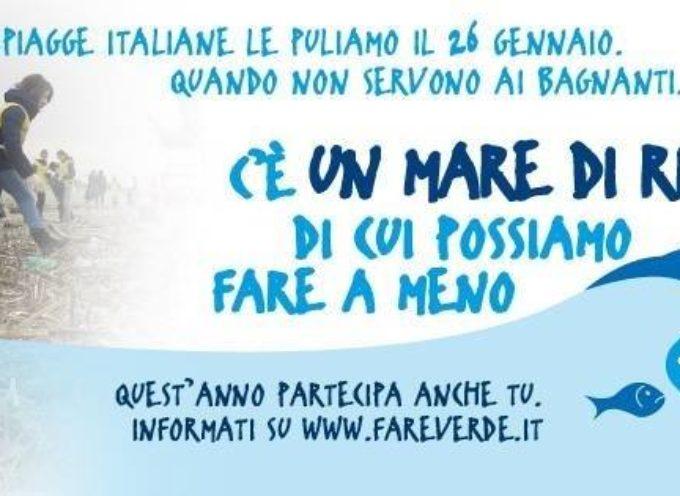 """Pietrasanta aderisce alla campagna nazionale di raccolta di rifiuti delle spiagge """"Il Mare d'Inverno""""."""