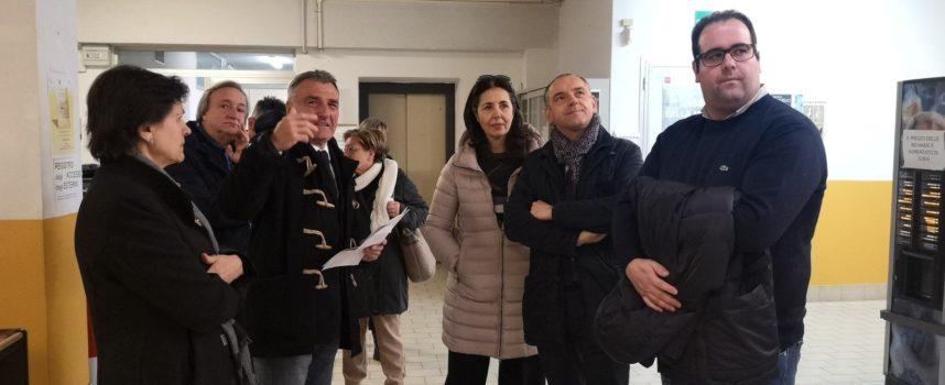 Una giornata di sopralluoghi e di confronto in Garfagnana per il presidente Luca Menesini