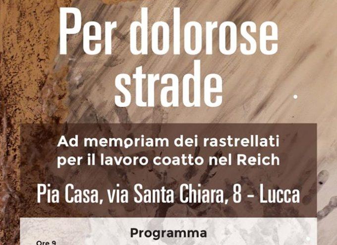 Sarà la prima soglia d'inciampo d'Italia e si troverà a Lucca,
