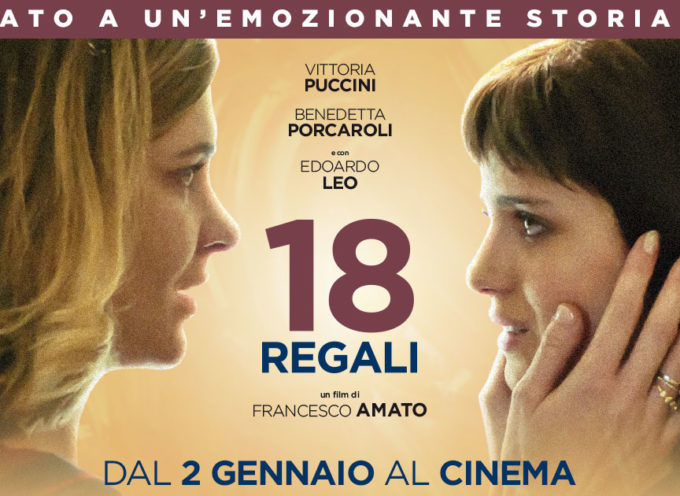 AL CINEMA ARTE' –  18 regali in prima visione