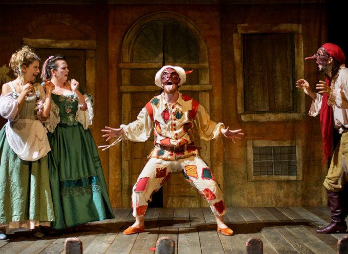 La commedia dell'arte arriva al Rassicurati di Montecarlo