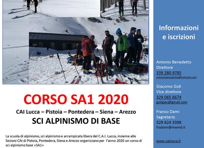 Sci Alpinismo: al via il corso del CAI Lucca