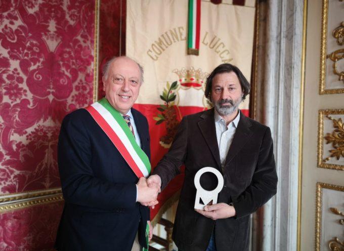 Il sindaco ha ricevuto il produttore vinicolo Roberto Giovanni Nannini