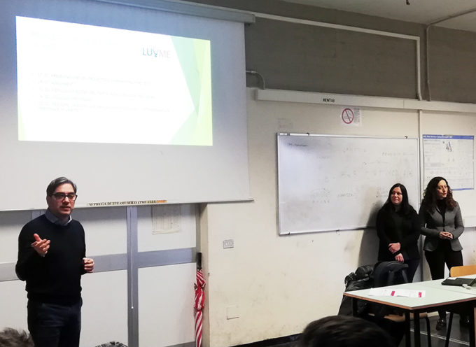 Con il progetto LU.ME. due classi dell'ITIS a lezione di CV