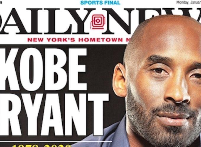 La morte di Kobe Bryant sconvolge anche lo sport pesciatino
