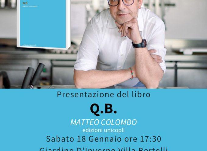 Il noir del giornalista Matteo Colombo presentato a Villa Bertelli
