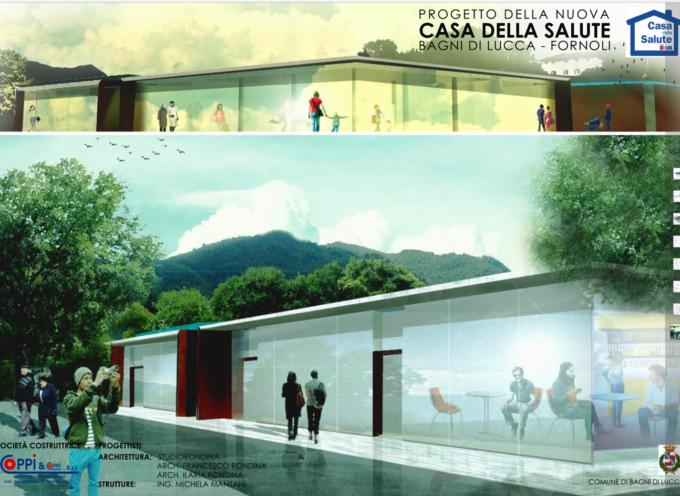 Parte il cantiere per la nuova Casa della Salute a Fornoli di Bagni di Lucca